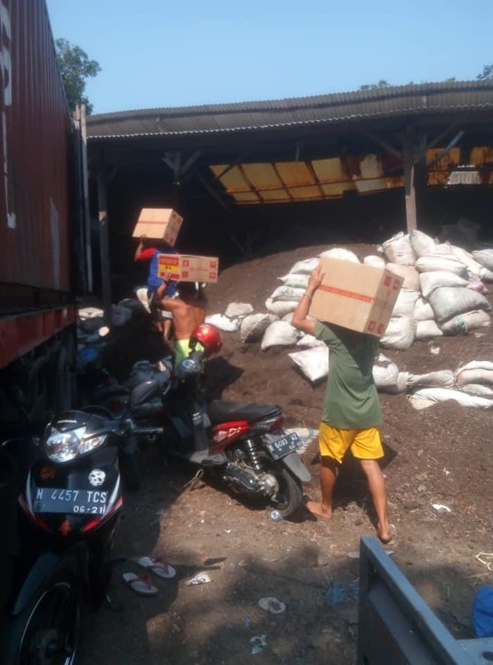 Proyek ke Kalimantan pupuk organik dan obat-obatan racun rumput glifosfat