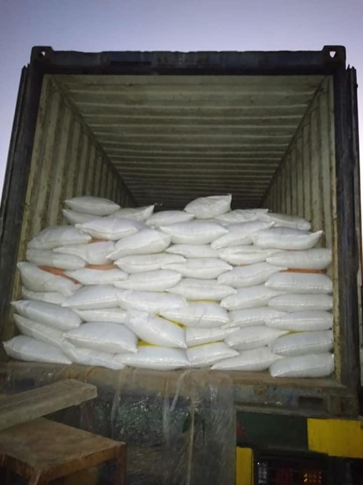 Pengiriman pupuk npk hibflor dan phospat alam bintang padi ke Aceh