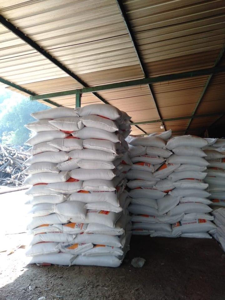 Pupuk phospat granulan SP Bintang Padi ready stok sebanyak 380 ton, dijamin aman untuk memenuhi kebutuhan petani Indonesia