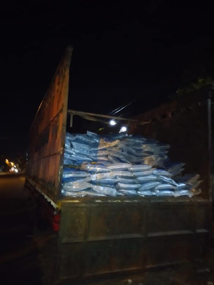 Pengiriman pupuk  npk interflor sebanyak 25 ton ke Kalimantan Tengah