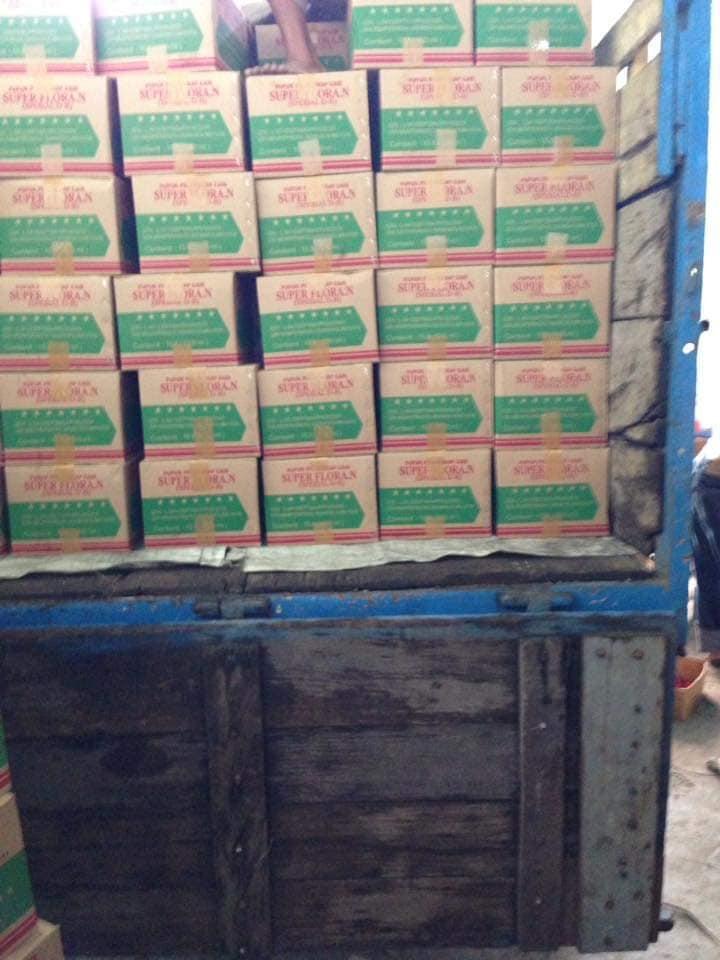 Pengiriman pupuk pelengkap cair S.Florans ke NTB, Sumbawa