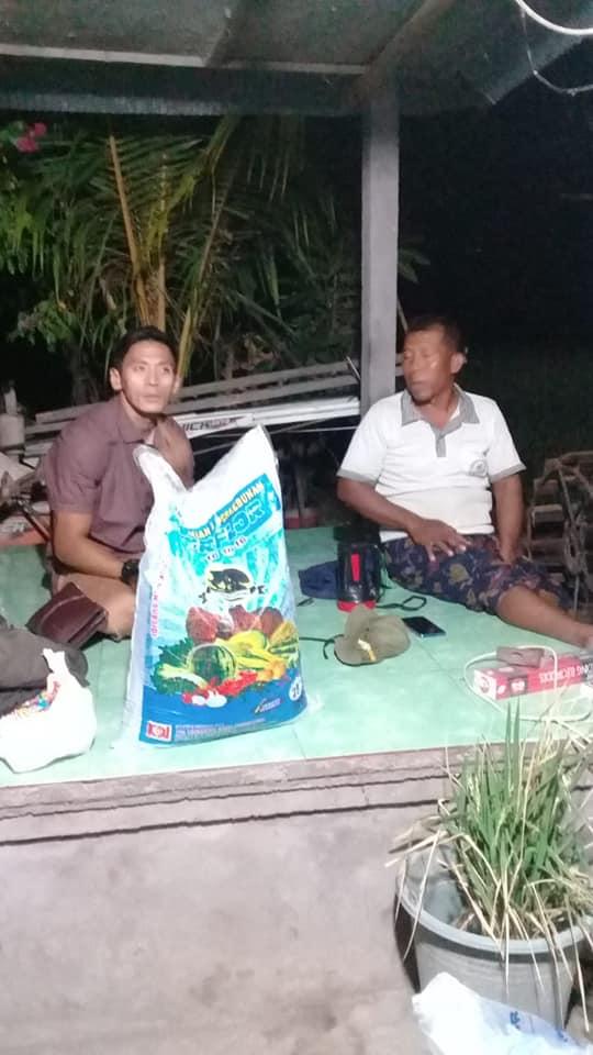 Pengenalan dan pengarahan produk pupuk NPK Interflor dan Hibaflor bersama kelompok tani palawija Padi di Singaraja Bali