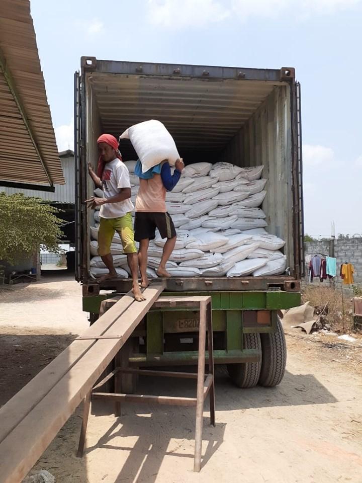 Selesai muat pupuk tujuan Pekanbaru, Riau