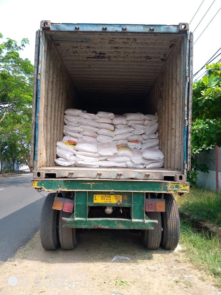 Selesai muatan pupuk npk hibaflor tujuan Aceh