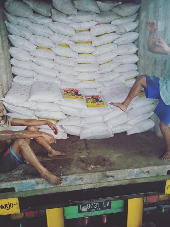 Selesai muat pupuk npk hibaflor tujuan  Aceh