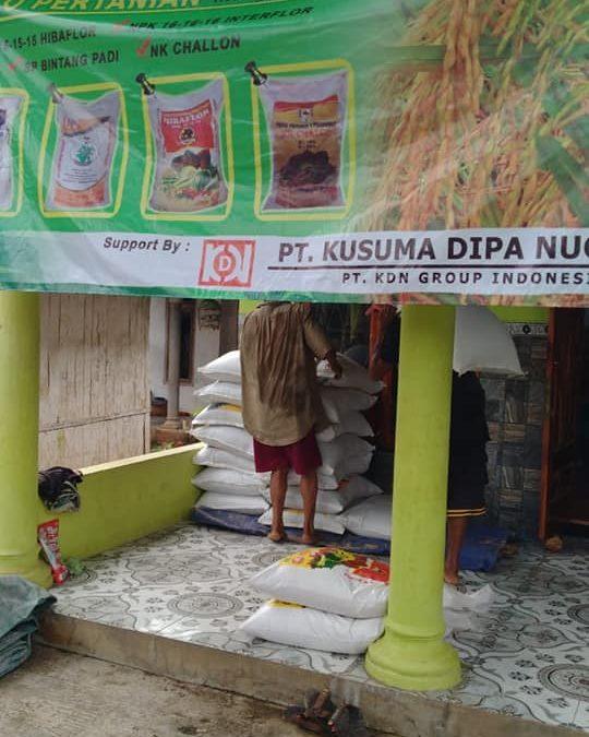 Pengiriman pupuk phospat alam bintang padi ke kios pertanian Pasuruan