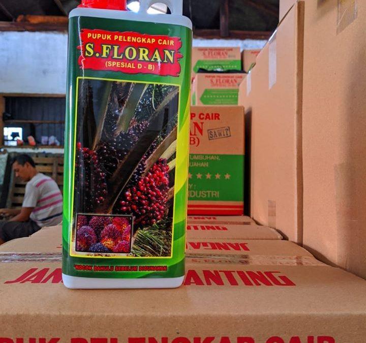 Pupuk pelengkap cair S. florans khusus tanaman sawit