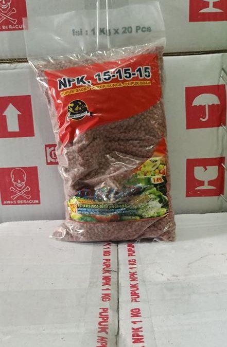 Pupuk NPK Hibaflor kemasan 1 kg